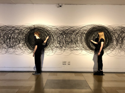 M.Lohrum, You Are It, Participative Drawing. Image: Cooper Gallery, Eoin Carey